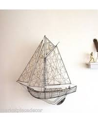 nautical metal sculpture wall art