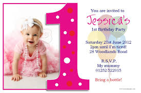 Birthday Card Sample Inspiration Birthday Invites Unique First Birthday Invitation Card Template