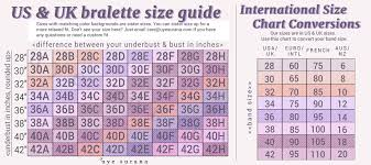 Prototypic 34h Bra Size Chart General Size Chart Bra Cup