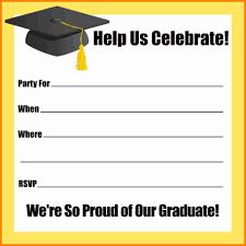 graduation party invitation template anuvrat info 7 graduation party invitation templates budget template