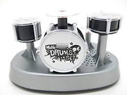 mini finger touch desktop drum set great novelty gift
