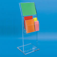 Angled Display Stand Clear Acrylic Display Stand WAngled Sign HolderChina Wholesale 13