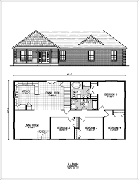 Small Picture Floor Plans For Ranch Homes With Basement Ahscgscom