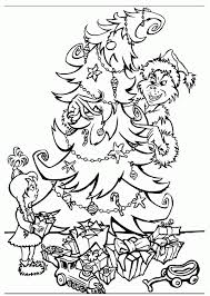 Small Picture How The Grinch Stole Christmas Coloring Page Coloring Home