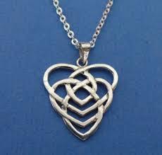 celtic motherhood knot jewelry necklace