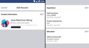 Work Histories Social Features Resume Feature Best Resume Features