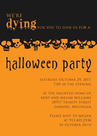 Halloween Invitation Template Editable Halloween Invitation Templates Fun For Christmas 14