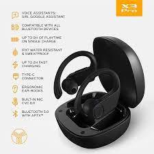 Treblab X3 Pro Kancalı Kulak İçi Kulaklık (Siyah) 44226
