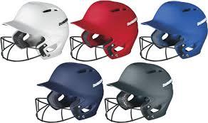 Demarini Paradox Pro Wtd5421 Fitted Batting Helmet W Fastpitch Softball Facemask
