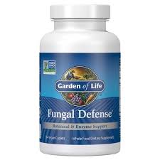 Garden of Life <b>Fungal Defense</b> - <b>84</b> Caplets - Buy Online in ...