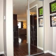 stanley works mirrored closet doors sliding mirror home depot sliding closet doors mirror for bedrooms