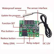 Robocraze W1209 50 100 Digital Temperature Controller Thermostat