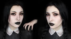 wednesday addams makeup tutorial