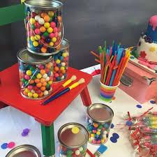 art painting birthday party ideas