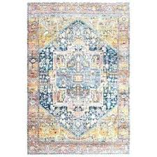 round rugs home depot rug medallion fringe rust 5 ft x 8 area pad 6x9