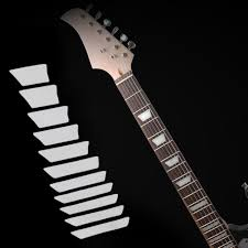 Fret Inlay Designs Us 1 49 13 Off Guitar Inlay Sticker For Electric Or Acoustic Guitar With 24 3 4