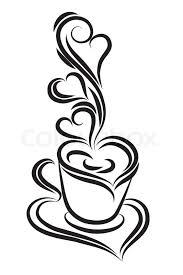 coffee cup vector black and white. Perfect Vector With Coffee Cup Vector Black And White W
