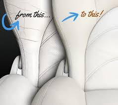 drivers car seat leather repairs