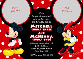 Make Your Own Mickey Mouse Invitations How To Make A Mickey Mouse Invitation Barca Fontanacountryinn Com