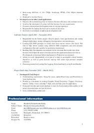 Sample Resume For Dot Net Developer Experience 2 Years Language