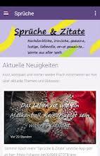 Sprüche Zitate Apps Bei Google Play