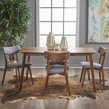 dining set wood. henry 5 piece wood dining set