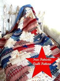Patriotic Quilt Patterns Free