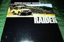 dodge raider 1989 dodge raider brochure dodge raider 4x4 dodge raider 4x4