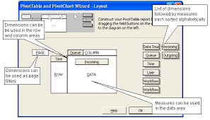 Chart Wizard Button Excel 2016 Use The Excel Pivot Chart Wizard