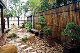 japanese fence design. Architecture:Massive Outdoor Decor With Bamboo Garden Fence Ideas Small Design Gravel Ground Japanese