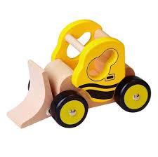 Развивающая <b>деревянная игрушка</b> Бульдозер от Viga Toys ...