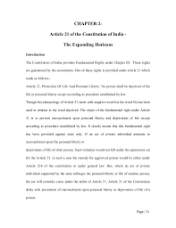 article right to live  constitutional duties an page 30 31