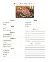 Office Potluck Signup Sheet Inspirational Office Potluck