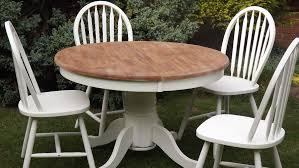 farmhouse table round