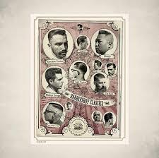 Mens Haircut Posters Barbershop Hairstyle Posters Reuzel