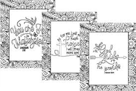 Flower And Leaves Adult Coloring Sheets Cultured Palate