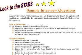 Sample Job Interview Questions | Download Free & Premium Templates ...