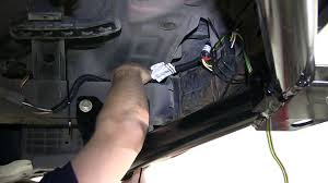 installation of a trailer wiring harness on a 2007 kia sorento 2013 kia sportage trailer wiring at Kia Sportage Trailer Wiring Harness