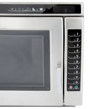 Heavy Duty Microwaves Amana Rc17s2 Heavy Duty Stainless Steel Commercial Microwave Oven