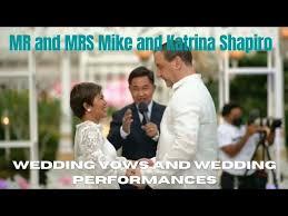 KATRINA VELARDE AND MIKE SHAPIRO - WEDDING VOWS AND PERFORMANCES ...
