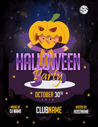 Costume Contest Flyer Template Ms Word Halloween Party Flyer Templates Word Excel Templates