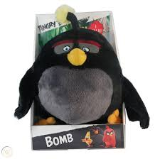 Angry Birds Movie 11-Inch Talking Feature Plush Bomb Incredibly Soft  Fantastic