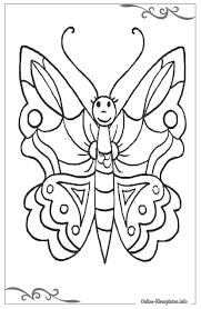 25 Bladeren Kleurplaat Vlinder Peuters Mandala Kleurplaat Voor