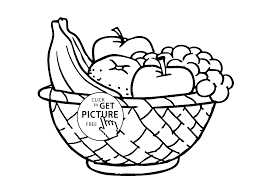 fruits basket printable coloring pages with fruit basket coloring pages to print fruits basket printable coloring pages with fruit basket coloring on coloring pages of fruits in a basket