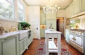 furnitures shabby chic kitchen with white kitchen counter also small kitchen island under white chandelier