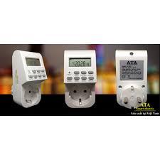 Ổ cắm hẹn giờ tắt mở ổ điện ATA AT-20B giảm chỉ còn 259,000 đ