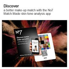 free makeup guide discover a better match with the number seven made skin tone ysis app