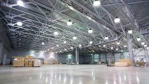 warehouse lighting with led high bay lights