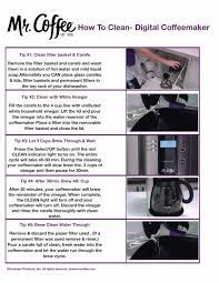 Coffee coffee maker pdf manuals. How To Clean Your Mr Coffee Coffee Maker