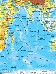 Индийский океан Карта Индийского океана Географическое положение  Карта Индийского океана